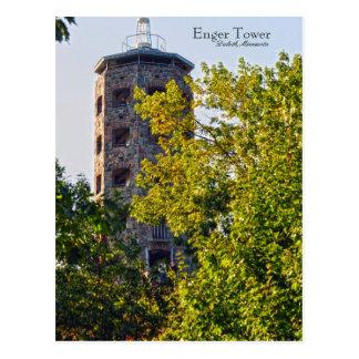 Carte Postale Tour d'Enger, Duluth Minnesota