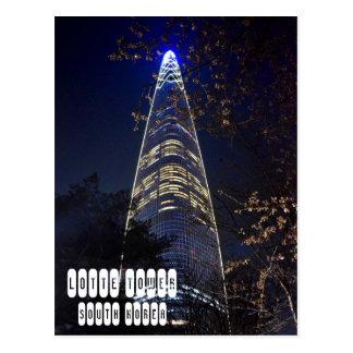 Carte Postale Tour du monde de Lotte à Séoul