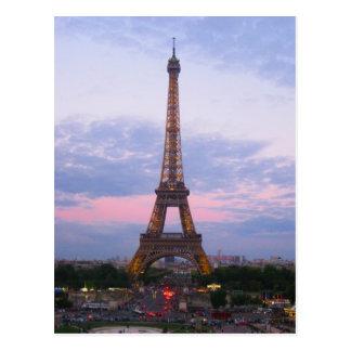 Carte Postale Tour Eiffel Paris