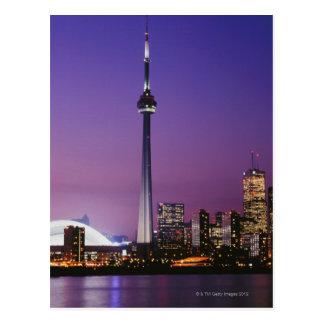 Carte Postale Tour nationale du Canada, Toronto, Canada