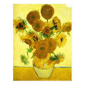Carte Postale Tournesols de Van Gogh