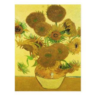 Carte Postale Tournesols par Vincent van Gogh