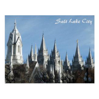 Carte Postale Tours du temple - Salt Lake City