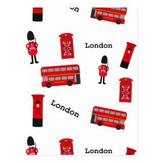 Carte Postale Toutes les choses Londres