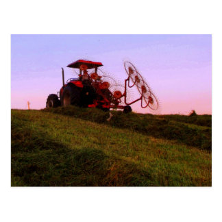 Carte Postale tracteur