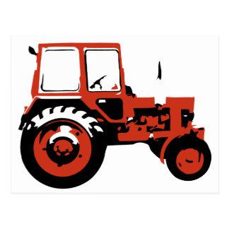Carte Postale Tracteur MTZ