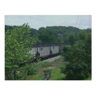 Carte Postale Train chargé de charbon