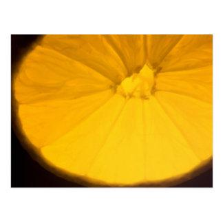 Carte Postale Tranche de citron