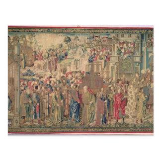 Carte Postale Transport de l'arche de l'engagement, Tapestr