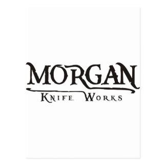 Carte Postale Travaux de couteau de Morgan
