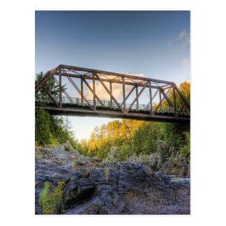 Carte Postale Traversée de la rivière