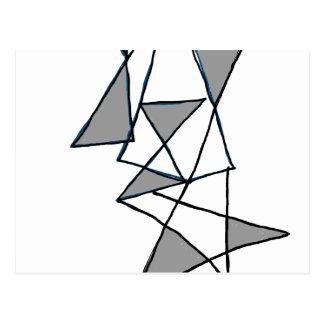 Carte Postale triangle 1604 d'art numérique