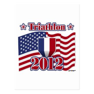 Carte Postale Triathlon 2012