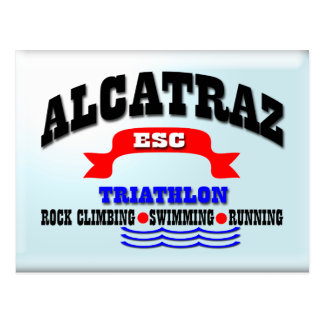 Carte Postale Triathlon d'Alcatraz