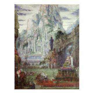 Carte Postale Triumph d'Alexandre le grand