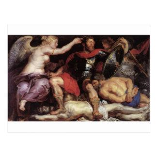 Carte Postale Triumph de la victoire par Peter Paul Rubens