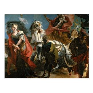 Carte Postale Triumph de Marcus Aurelius