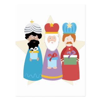 Carte Postale Trois sages