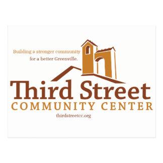 Carte Postale Troisième vision de centre social de rue