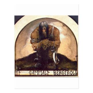 Carte Postale troll