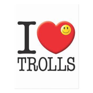 Carte Postale Trolls