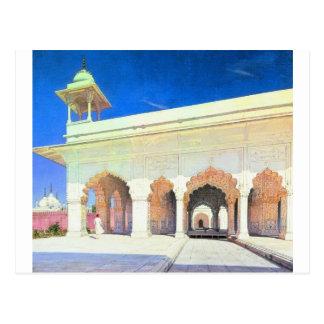 Carte Postale Trône Hall du grand Mughal Shah Jahan