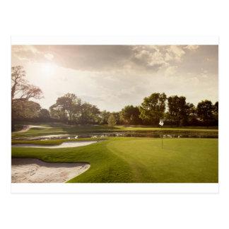 Carte Postale Trou de golf