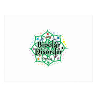 Carte Postale Trouble bipolaire Lotus