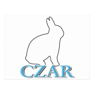 Carte Postale Tsar de lapin