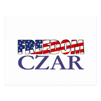 Carte Postale Tsar de liberté