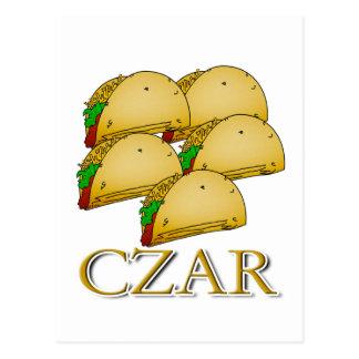 Carte Postale Tsar de taco