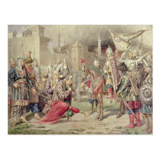 Carte Postale Tsar Ivan IV Vasilyevich le terrible