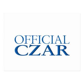 Carte Postale Tsar officiel
