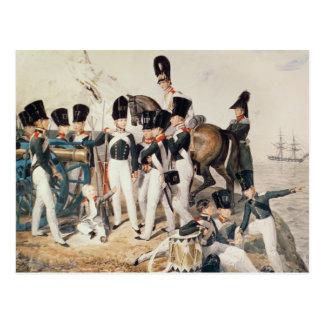 Carte Postale Tsarevich Alexandre avec ses cadets à