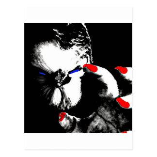 Carte Postale Tueur de zombi - Xanox, moins qu'humain