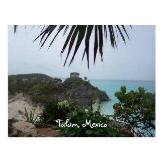 Carte Postale tulummexico, Tulum, Mexique