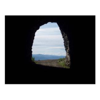 Carte Postale tunnel