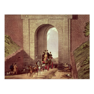 Carte Postale Tunnel de Highgate, gravé par chasse à George,