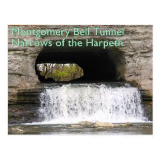 Carte Postale Tunnel de Montgomery Bell - étroits du Harpeth