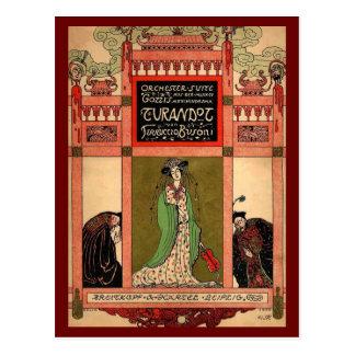 Carte Postale Turandot, un opéra de Puccini