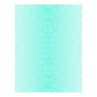 Carte Postale turquoise