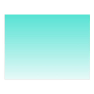 Carte Postale Turquoise Ombre