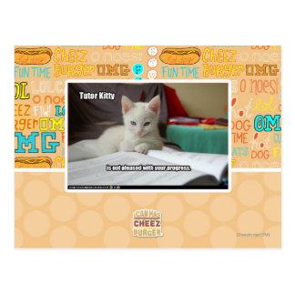 Carte Postale Tuteur Kitty