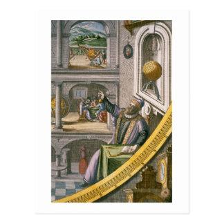 Carte Postale Tycho Brahe (1546-1601) a vieilli 40, parmi son