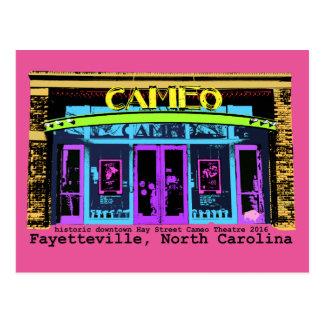 Carte Postale type historique de noir de camée de Fayetteville