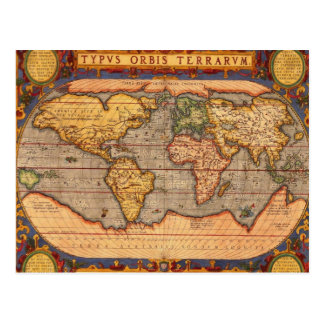 Carte Postale Typvs Orbis Terrarvm