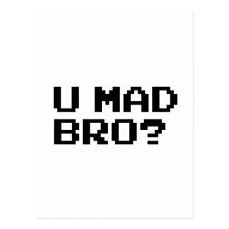Carte Postale U BRO FOU ? - Internet/meme/IRC/chat/4chan/troll