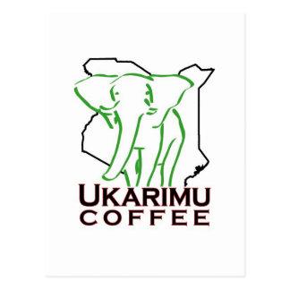 Carte Postale Ukarimu - à l'appui de faneuse de Roland