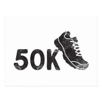 Carte Postale Ultra Marathoner