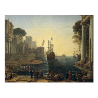 Carte Postale Ulysse renvoyant Chryseis à son père